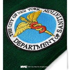 画像6: X DSNY Community Services Long Beanie デイーエスエヌワイ ニット帽 キャップ ビーニー Black ブラック Dark Green by Lafayette ラファイエット  (6)