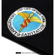 画像5: X DSNY Community Services Long Beanie デイーエスエヌワイ ニット帽 キャップ ビーニー Black ブラック Dark Green by Lafayette ラファイエット  (5)