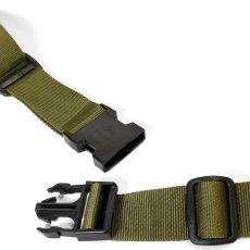 画像11: Military Waist Bag ウエスト バッグ Black Military Green ブラック ミリタリー グリーン by Lafayette ラファイエット  (11)