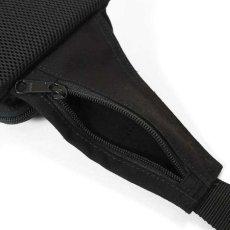 画像6: Military Waist Bag ウエスト バッグ Black Military Green ブラック ミリタリー グリーン by Lafayette ラファイエット  (6)
