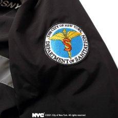 画像8: X DSNY Community Services Worker Jacket 刺繍 オフィシャル ロゴ ユニフォーム リフレクター ジャケット Black ブラック by Lafayette ラファイエット  (8)