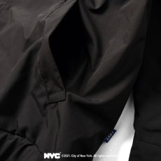 画像11: X DSNY Community Services Worker Jacket 刺繍 オフィシャル ロゴ ユニフォーム リフレクター ジャケット Black ブラック by Lafayette ラファイエット  (11)