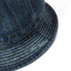 画像6: Washed Denim Reversible Metro Hat Paisley ペイズリー リバーシブル デニム メトロ ハット 帽子 by Lafayette ラファイエット  (6)