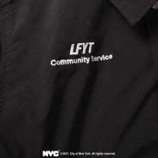 画像12: X DSNY Community Services Worker Jacket 刺繍 オフィシャル ロゴ ユニフォーム リフレクター ジャケット Black ブラック by Lafayette ラファイエット  (12)