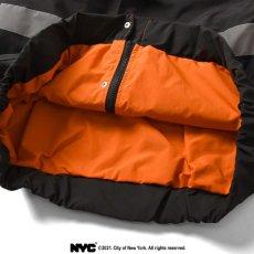 画像9: X DSNY Community Services Worker Jacket 刺繍 オフィシャル ロゴ ユニフォーム リフレクター ジャケット Black ブラック by Lafayette ラファイエット  (9)