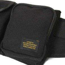 画像12: Military Waist Bag ウエスト バッグ Black Military Green ブラック ミリタリー グリーン by Lafayette ラファイエット  (12)