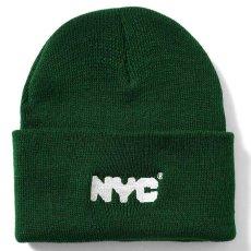 画像2: X DSNY Community Services Long Beanie デイーエスエヌワイ ニット帽 キャップ ビーニー Black ブラック Dark Green by Lafayette ラファイエット  (2)