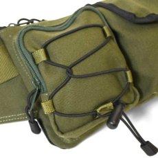 画像15: Military Waist Bag ウエスト バッグ Black Military Green ブラック ミリタリー グリーン by Lafayette ラファイエット  (15)