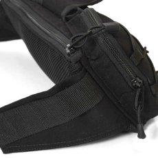 画像8: Military Waist Bag ウエスト バッグ Black Military Green ブラック ミリタリー グリーン by Lafayette ラファイエット  (8)