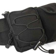 画像14: Military Waist Bag ウエスト バッグ Black Military Green ブラック ミリタリー グリーン by Lafayette ラファイエット  (14)
