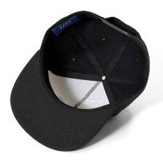 画像13: True Taste Flat Visor 5Panel Cap トゥルー テイスト フラット バイザー パネル キャップ 帽子 Black Navy Beige ブラック ベージュ ネイビー by Lafayette ラファイエット  (13)