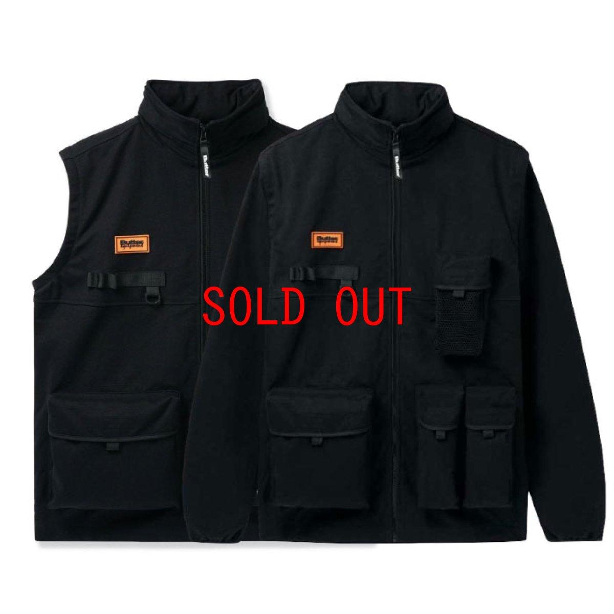 画像1: Equipment Technical 2Way Jacket Vest テクニカル ツーウェイ ジャケット ベスト Black ブラック (1)