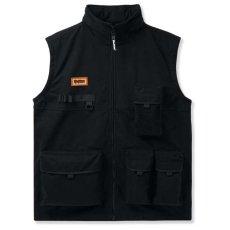 画像2: Equipment Technical 2Way Jacket Vest テクニカル ツーウェイ ジャケット ベスト Black ブラック (2)
