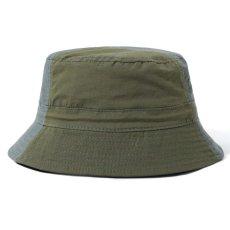 画像2: Patchwork Bucket Hat パッチワーク バケット ハット キャップ 帽子 Army Green アーミー グリーン (2)