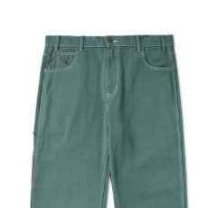 画像4: Overdye Denim Work Pants オーバーダイ カラー デニム ワーク パンツ Alpine Green グリーン (4)
