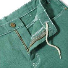 画像5: Overdye Denim Work Pants オーバーダイ カラー デニム ワーク パンツ Alpine Green グリーン (5)