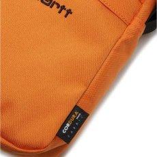 画像13: Payton Shoulder Pouch ペイトン ショルダー ポーチ Black Deep Lagoon Navy Hokkaido Orange ブラック ネイビー オレンジ (13)