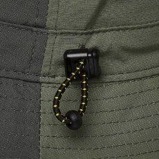 画像3: Patchwork Bucket Hat パッチワーク バケット ハット キャップ 帽子 Army Green アーミー グリーン (3)