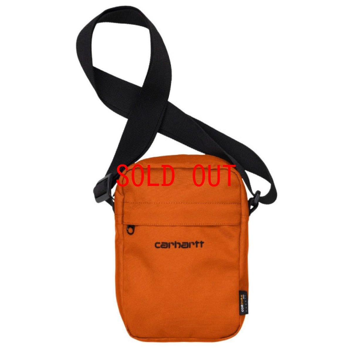 画像1: Payton Shoulder Pouch ペイトン ショルダー ポーチ Hokkaido Orange Deep Lagoon Navy Black オレンジ ネイビー ブラック (1)
