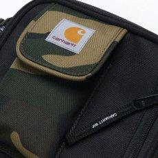 画像7: Essentials Bag Small エッセンシャル ショルダー バッグ Hamilton Brown Black Camo Laurel Multi ブラック ブラウン カモ 切替 (7)