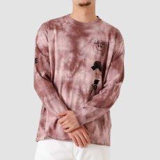 画像5: TAB L/S Tie Dye Tee タイダイ ロング スリーブ ルーズ フィット 長袖 Tシャツ Chromo Malaga Pink / Black (5)