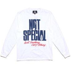 画像2: The World L/S Tee ロゴ 長袖 Tシャツ ワールド White ホワイト (2)