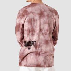 画像6: TAB L/S Tie Dye Tee タイダイ ロング スリーブ ルーズ フィット 長袖 Tシャツ Chromo Malaga Pink / Black (6)