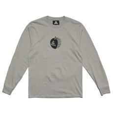 画像2: Apple L/S Tee ロゴ 長袖 Tシャツ アップル L Green グリーン (2)