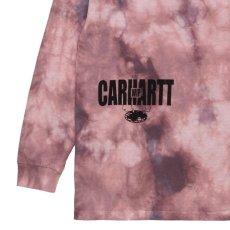 画像3: TAB L/S Tie Dye Tee タイダイ ロング スリーブ ルーズ フィット 長袖 Tシャツ Chromo Malaga Pink / Black (3)
