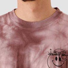 画像7: TAB L/S Tie Dye Tee タイダイ ロング スリーブ ルーズ フィット 長袖 Tシャツ Chromo Malaga Pink / Black (7)