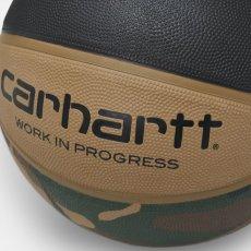 画像5: × Spalding Valiant 4 Basketball スパルディング コラボレーション バスケット ボール 7号 Camo Laurel Black Air Force Grey Leather (5)