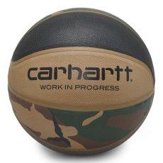 画像2: × Spalding Valiant 4 Basketball スパルディング コラボレーション バスケット ボール 7号 Camo Laurel Black Air Force Grey Leather (2)