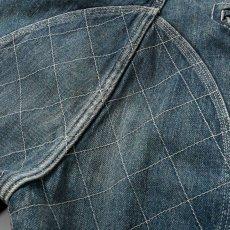 画像8: Washed Denim Shorts デニム ショーツ カーゴ ショート パンツ Vintage ビンテージ Paisley ペイズリー (8)
