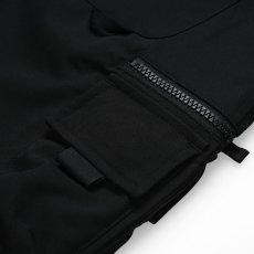 画像6: Elmwood Pants タクティカル ナイロン カーゴ パンツ リフレクティブ ラベル リラックスフィット アウトドア Black ブラック (6)