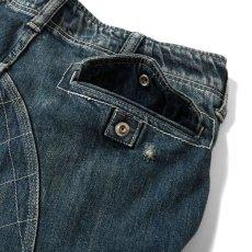 画像11: Washed Denim Shorts デニム ショーツ カーゴ ショート パンツ Vintage ビンテージ Paisley ペイズリー (11)