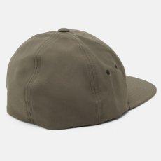 画像6: Elmwood Flexfit Fitted Cap ロゴ フィテッド フレックス フィット キャップ 帽子 Black Moor Green ブラック アーミー グリーン (6)