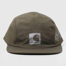 画像9: Gore Tex Infinium Reflect Cap ゴアテックス ナイロン キャップ 帽子 ロゴ リフレクティブ 5パネル Black Moor Green (9)