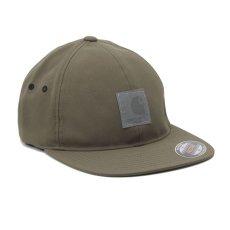 画像3: Elmwood Flexfit Fitted Cap ロゴ フィテッド フレックス フィット キャップ 帽子 Black Moor Green ブラック アーミー グリーン (3)