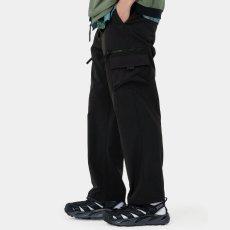 画像8: Elmwood Pants タクティカル ナイロン カーゴ パンツ リフレクティブ ラベル リラックスフィット アウトドア Black ブラック (8)