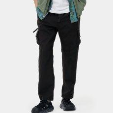 画像5: Elmwood Pants タクティカル ナイロン カーゴ パンツ リフレクティブ ラベル リラックスフィット アウトドア Black ブラック (5)