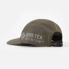 画像15: Gore Tex Infinium Reflect Cap ゴアテックス ナイロン キャップ 帽子 ロゴ リフレクティブ 5パネル Black Moor Green (15)