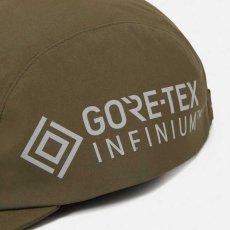 画像11: Gore Tex Infinium Reflect Cap ゴアテックス ナイロン キャップ 帽子 ロゴ リフレクティブ 5パネル Black Moor Green (11)