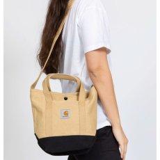 画像1: Canvas Small Tote Bag キャンバス スモール トート ショルダー バッグ 2way Dusty Hamilton Brown Black ハミルトン ブラウン ブラック (1)