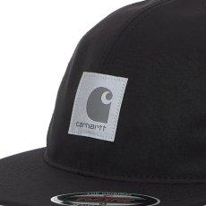 画像11: Elmwood Flexfit Fitted Cap ロゴ フィテッド フレックス フィット キャップ 帽子 Black Moor Green ブラック アーミー グリーン (11)