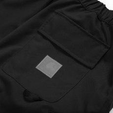 画像10: Elmwood Shorts タクティカル ナイロン カーゴ ショーツ リフレクティブ ラベル リラックスフィット アウトドア Black ブラック (10)