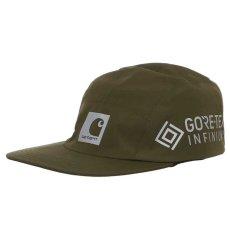 画像3: Gore Tex Infinium Reflect Cap ゴアテックス ナイロン キャップ 帽子 ロゴ リフレクティブ 5パネル Black Moor Green (3)