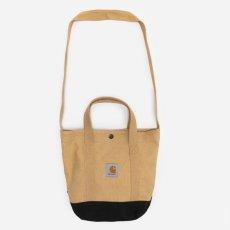 画像6: Canvas Small Tote Bag キャンバス スモール トート ショルダー バッグ 2way Dusty Hamilton Brown Black ハミルトン ブラウン ブラック (6)