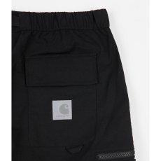 画像5: Elmwood Shorts タクティカル ナイロン カーゴ ショーツ リフレクティブ ラベル リラックスフィット アウトドア Black ブラック (5)