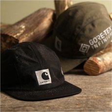 画像17: Gore Tex Infinium Reflect Cap ゴアテックス ナイロン キャップ 帽子 ロゴ リフレクティブ 5パネル Black Moor Green (17)