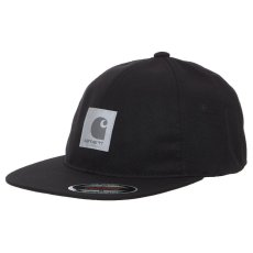 画像2: Elmwood Flexfit Fitted Cap ロゴ フィテッド フレックス フィット キャップ 帽子 Black Moor Green ブラック アーミー グリーン (2)